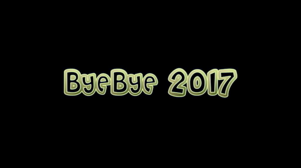 Bye bye 2017 – Vallée