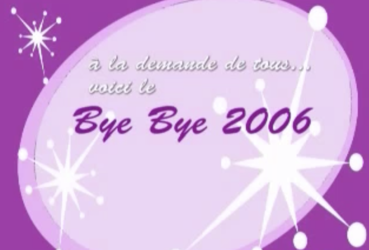 Bye bye 2006