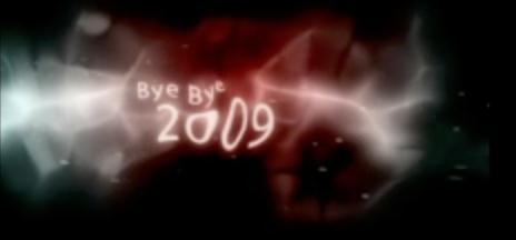 Bye bye 2009