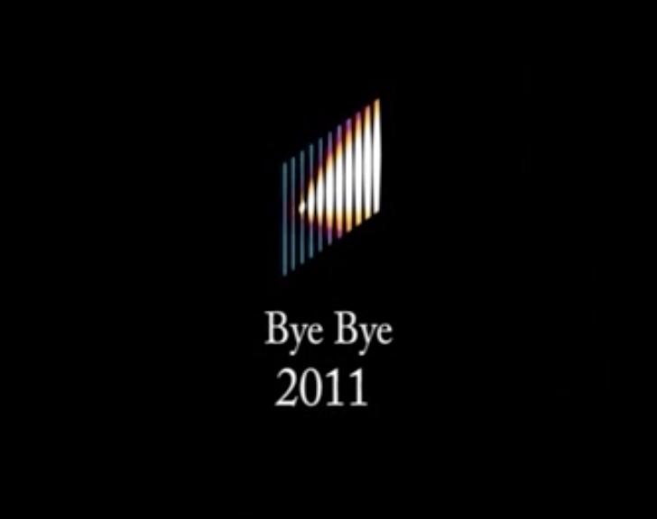 Bye bye 2011